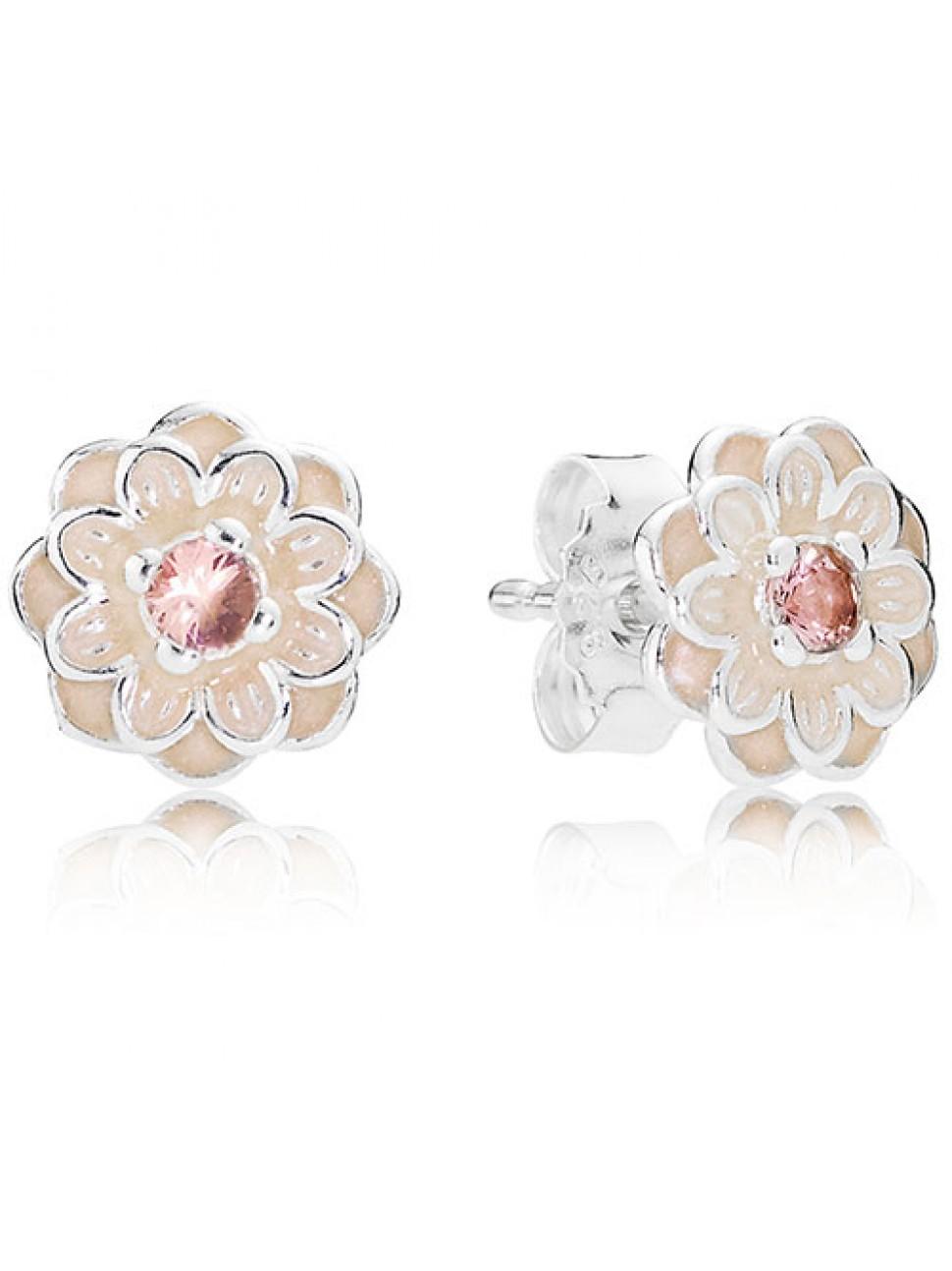 Blooming Dahlia Earrings Enjoy a Discount