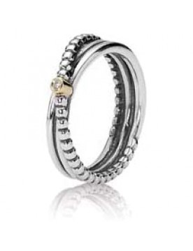 Bright Rising Star Diamond Ring